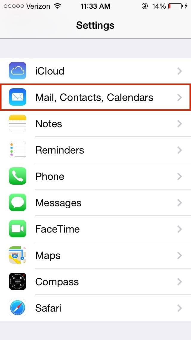 how do i get mail on my iphone 8