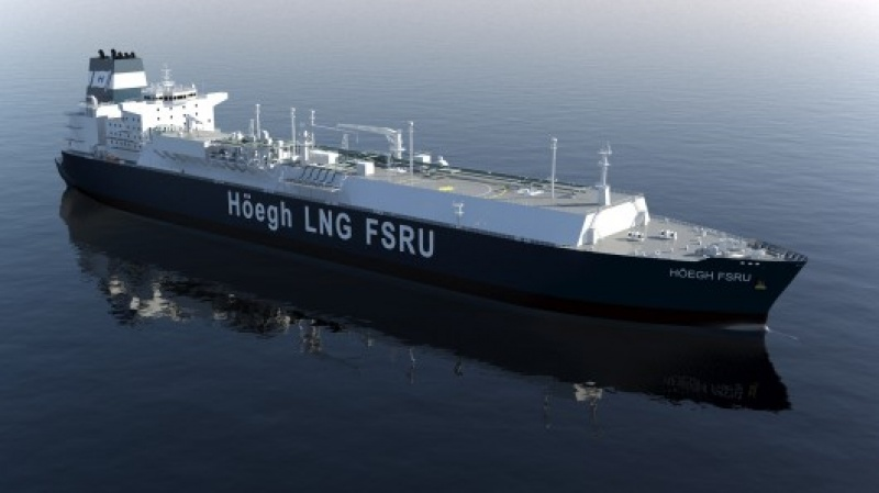Höegh LNG signed on 1 December 2016 a Floating Storage Regasification Unit ( FSRU) contract with Quantum Power Ghana Gas Limited for the Tema LNG import ... & Höegh LNG signed on 1 December 2016 a Floating Storage ...