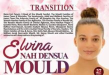Elvina's Obituary Poster